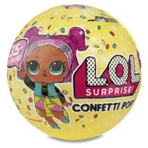 Boneca lol - confetti pop - 9 surpresas - Lol surprise
