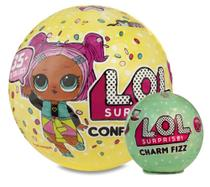 Boneca lol - confetti pop + charm fizz - Lol surprise
