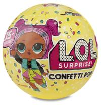 Boneca Lol Surprise Confetti 9 Surpresas Pop Série 3 - Original