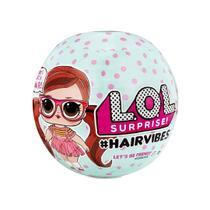 Boneca lol surprise hair vibes original 15 supresas fashion - Candide