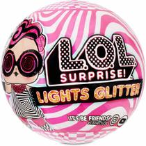 Boneca LOL Surprise - Lights Glitter - 8 Surpresas - Candide -