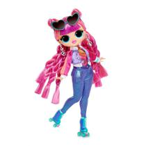 Boneca LoL Surprise O.M.G Fashion Doll Série 3 Rolleer Chick - Candide