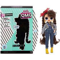 Boneca Lol Surprise OMG 20 Surpresas Série 2 Busy B.B.- Candide 8943 -