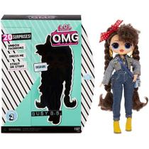 Boneca lol surprise omg assortment serie 2 - busy b.b. - Candide