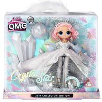 Boneca LOL Surprise OMG Collector Edition CRYSTAL STAR Candide 8936 -