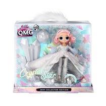 boneca lol surprise omg cristal star - candide -