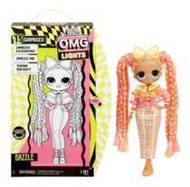 Boneca LOL Surprise OMG Lights - LOL O.M.G - 15 Surpresas -  Dazzle  Candide -
