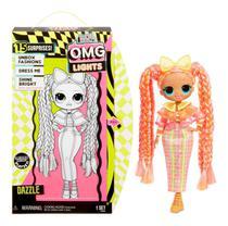 Boneca Lol Surprise Omg Lights Series Dazzle Da Candide 8941 -