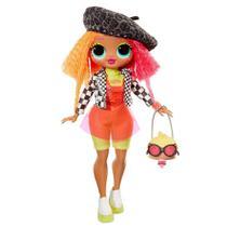 Boneca Lol Surprise Omg Neoncilious Fashion Doll - Candide