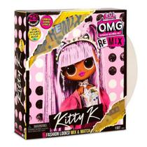 Boneca Lol Surprise - OMG New Theme Asst Remix - Kitty K - Candide