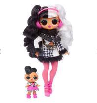 Boneca LOL Surprise OMG Winter Disco Dollie e Dollface 25 Surpresas Candide -