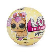 Boneca LOL Surprise PETS - SERIE 3 - Bichinho de estimação -
