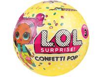 Boneca LOL Surprise! Série 3 Confetti Pop - com Acessórios Candide (700) -