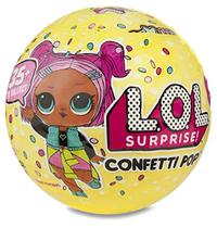 Boneca Lol Surprise Serie 3 Confetti Pop Original 9surpresas - Candide