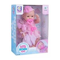 Boneca Love BORN Hora da Naninha Fecha os Olhinhos Cotiplás 2380 - Cotiplas