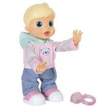 Boneca Malu Baby Wow bebê interativa - Multikids -