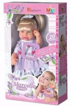 Boneca Marcelle Fala 20 Frases - Milk Brinquedos -