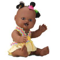 Boneca Milkinha Petit Chuquinha Negra 19 CM Milk - Milk brinquedos