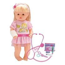 Boneca Minha Dodoizinha Com Gessinho - Sid-Nyl