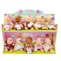 Boneca mini miudinhas com 1 unidade 15cm - divertoys - ddc -