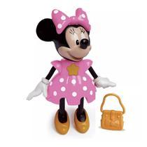 Boneca Minnie - Conta Histórias - Disney - Rosa - Elka -