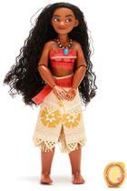 Boneca Moana  Classic Doll com Pingente  Original Disney Store -
