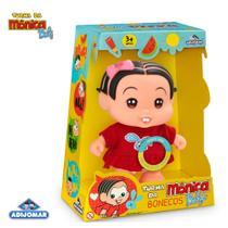 Boneca Mônica Turma Da Mônica Baby Fala Frases - Adijomar - Adijomar Brinquedos