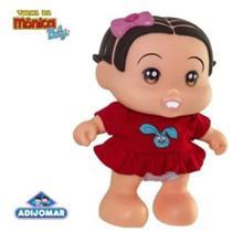 Boneca Mônica Turma Da Mônica Baby Fala Frases Licenciada - ADIJOMAR