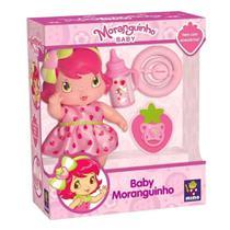 Boneca Moranguinho Baby Com Acessórios - Mimo -