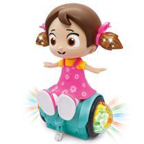 Boneca Musical Canta Dance E Acende Luz Dance Girl - Yijun