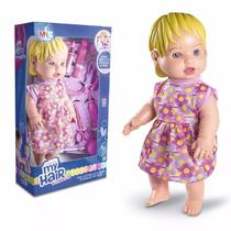 Boneca My Hair Collection Primeira Consulta 32cm Milk - Milk brinquedos