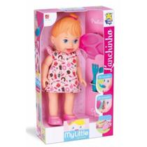 Boneca My Little Collection Lanchinho Loira  Divertoys -
