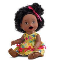 Boneca My Little Collection - Primeira Papinha - Negra - divertoys -