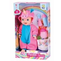 Boneca my little dolls unicornio - Divertoys