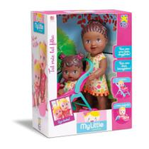 Boneca My Little Tal Mae Tal Filha Negra Diver Toys - Divertoys