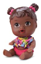 Boneca Na Banheirinha Little Dolls Divertoys Negra -