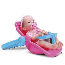 Boneca New Born Bebe Conforto ou Cadeirinha Diver Toys - Divertoys