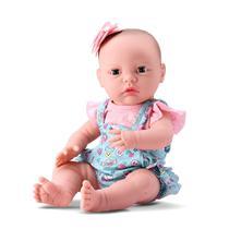 Boneca New Born Cuidados Faz Xixi Abre E Fecha Os Olhos - Divertoys