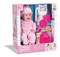 Boneca New Born Faz Come E Faz Caquinha Divertoys -