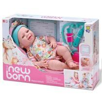 Boneca new born maternidade divertoys -