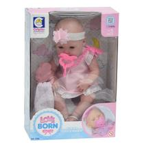 Boneca Newborn Hora da Naninha - Love Born - Cotiplás -