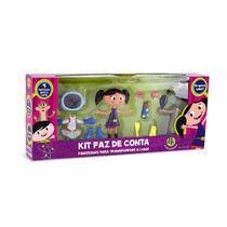 Boneca O Show da Luna Kit Faz de Conta Fantasias Para Transformar a Luna - DTC -
