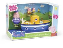 Boneca Peppa Pig Barco do Vovô Pig - de R 150,00 à R 199,99 - Sunny