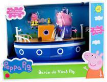 Boneca Peppa Pig Barco do Vovô Pig - Sunny 2309 -