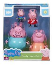 Boneca Peppa Pig Família Da Peppa Sunny -