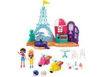 Boneca Polly Pocket Aventuras em Paris - com Acessórios Mattel