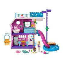 Boneca Polly Pocket Casa Do Lago Da Polly Mattel Ghy65