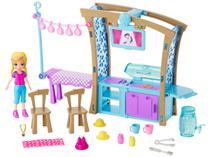 Boneca Polly Pocket Churrasco Divertido - com Acessórios Mattel GDM17