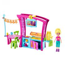 Boneca Polly Pocket - Churrasco Divertido da Polly - Mattel