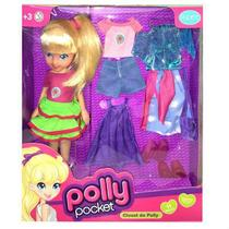Boneca POLLY Pocket Closet da POLLY Pupee 1103